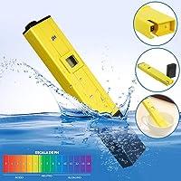 LCD Digital PH Meter Tester Electric Test Pen Liquid PH Value Detector for Aquarium Fish Tank Pool Water Cosmetic Experiment