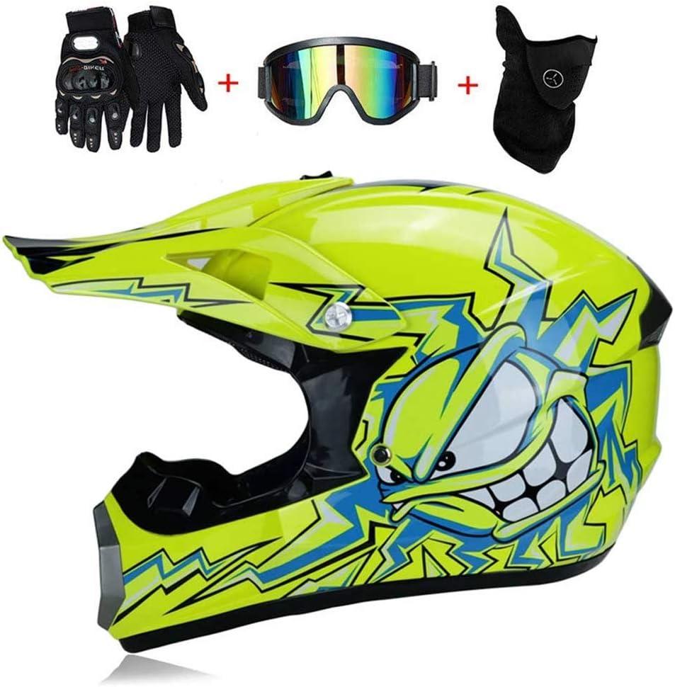 GEDE Gafas de Gafas de Moto al Aire Libre para Gafas de Motocross Gafas de Casco de Motocicleta 10 Piezas por Bolsa