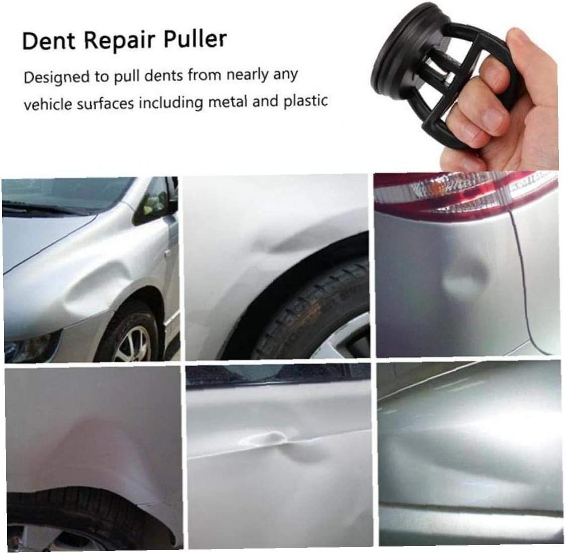 Mini Car Dent Remover Auto Body Fix Mend Puller Car Suction Cup Pad Glass Lifter Metal Panel Car Repair Disassemble Tool