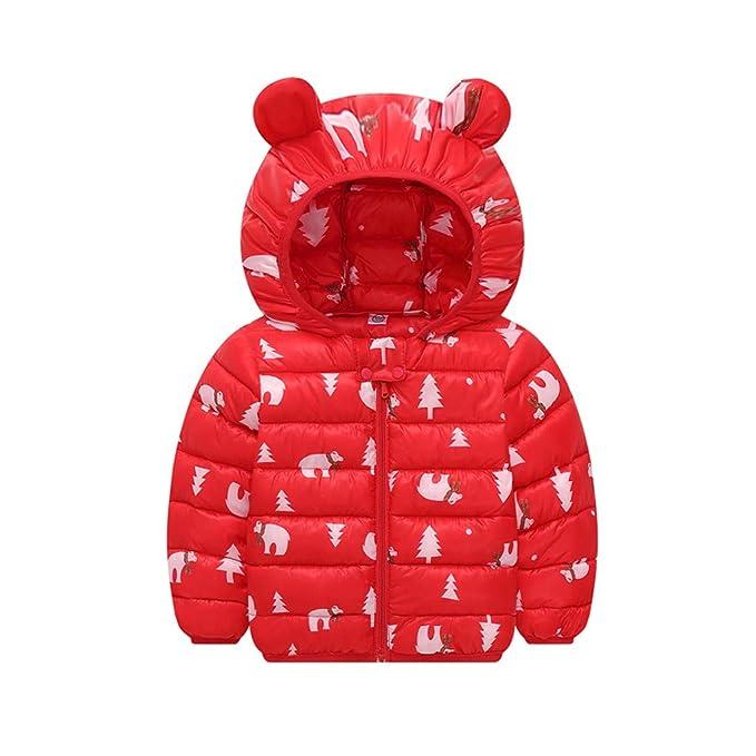 Abrigo de piel cálida para niños y niñas con capucha - Chaqueta de ...