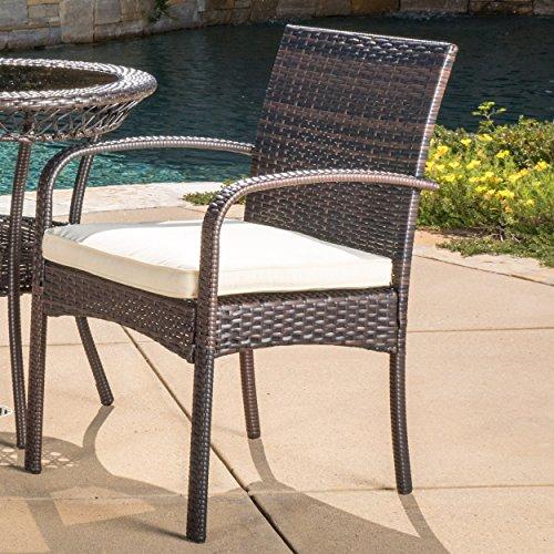 Great Deals On Furniture Online: Great Deal Furniture Meeker Outdoor 3-Piece Wicker Bistro