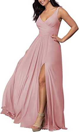 Lilibridal One Shoulder Bridesmaid Dresses Wedding Formal Prom Evening Party Gown with Belt 300
