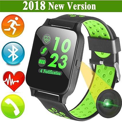 Amazon.com: FidgetFidget Smart Watch Bluetooth Smartwatch ...