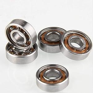 SYHL 695(0.2 in x 0.51 in x 0.157 in) -Sealed Miniature deep Groove Ball Bearing, Motor Bearings,Pulley Bearings,Encoder Bearings, gyro Bearing.10 Pack