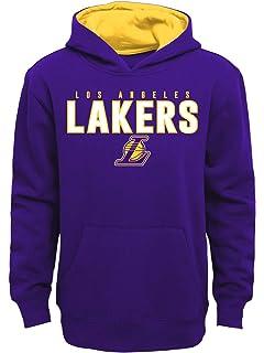 Gray Zipway NBA Youth Boys Los Angeles Lakers 1//4 Zip Pullover Sweatshirt