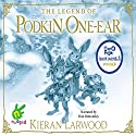 The Five Realms: The Legend of Podkin One-Ear: The Five Realms, Book 1 Audiobook by Kieran Larwood Narrated by Dan Bottomley