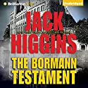 The Bormann Testament Audiobook by Jack Higgins Narrated by Michael Page