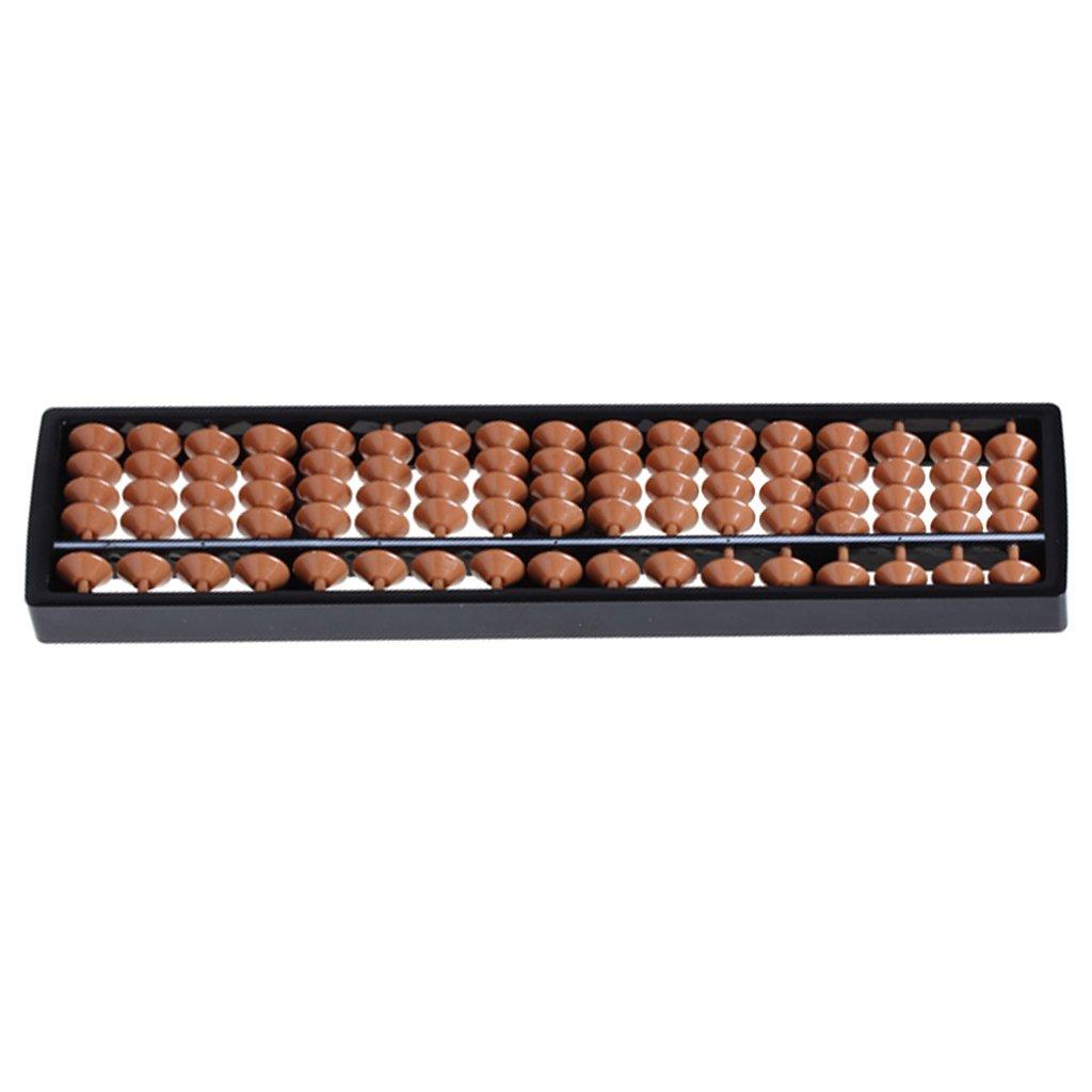 Herramienta De Cálculo De Plástico ábaco Aritmética Soroban Infantil 17 Dígitos Generic