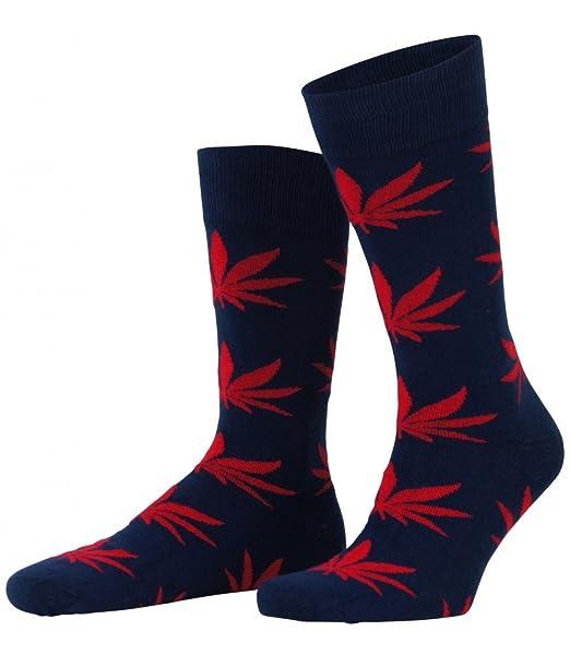 Colorida Calcetines colorido de Hot soccs, modelo: Cannabis, Azul/Rojo 41 - 46: Amazon.es: Ropa y accesorios