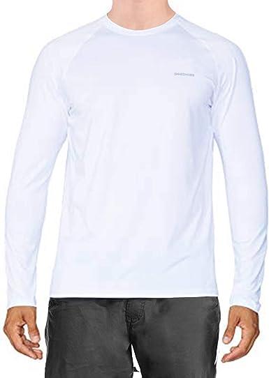 Ogeenier Camisetas Manga Larga Transpirables de Secado Rápido para Hombres Gym Workout Active Fitness Sudaderas
