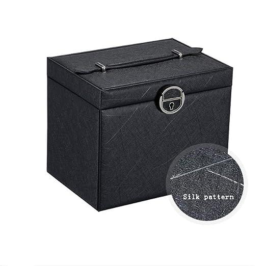 Caja de almacenamiento de joyas Joyería de gran capacidad de caja ...