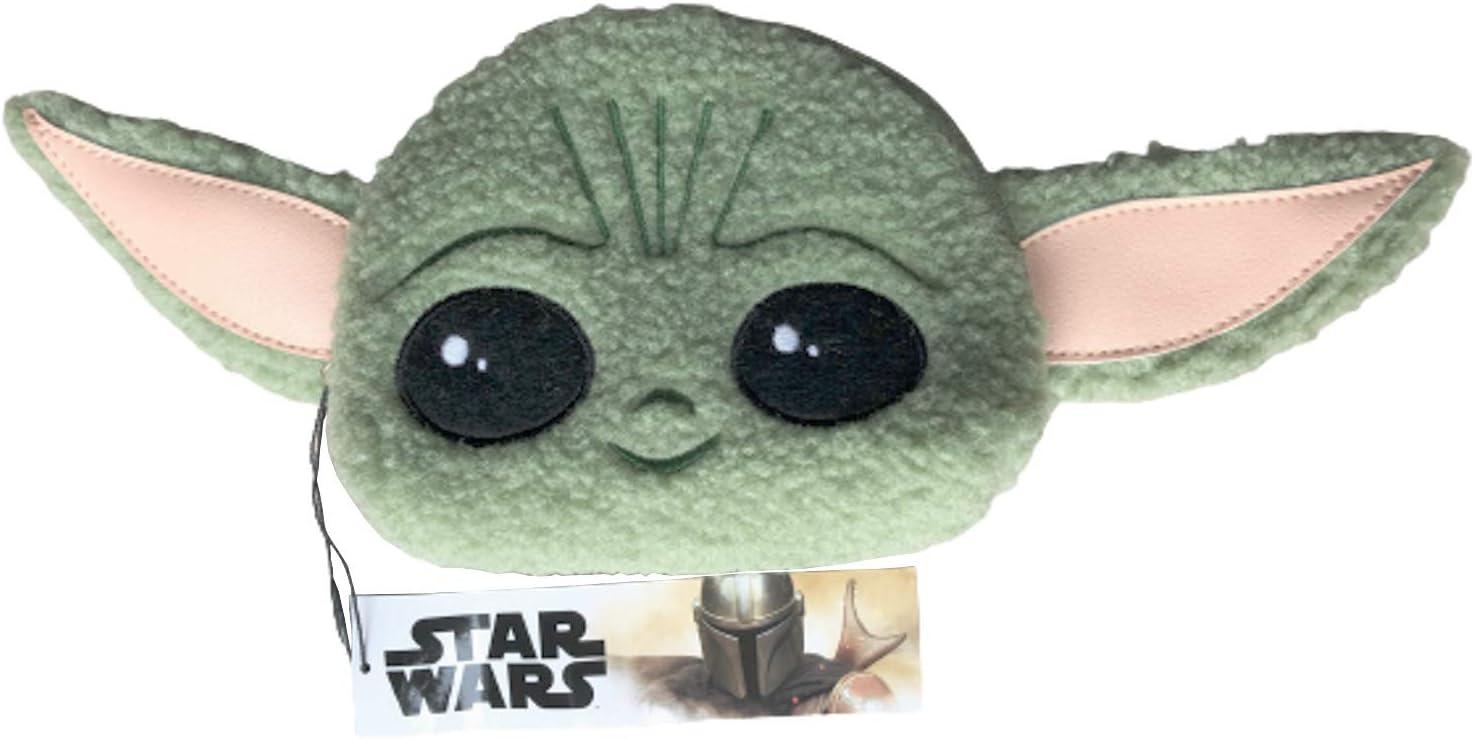 Neceser Baby Yoda Grogu The Child con Licencia Oficial Disney + Bolsa de Aseo Mujer y Ni/ño Star Wars The Mandalorian