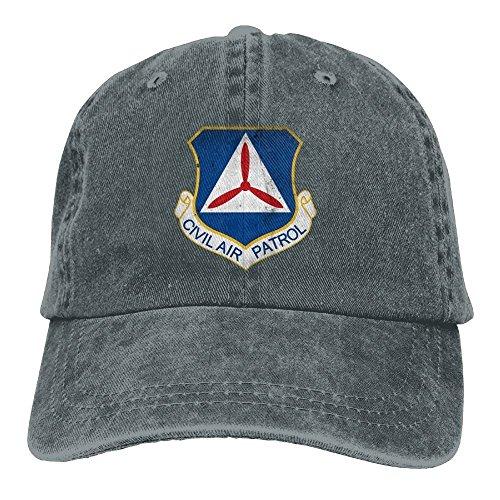 FUNINDIY Baseball Cap Civil Air Patrol Cap Command Man & Woman Retro Adjustable Leisure Cap Dad Trucker Hat
