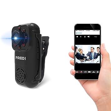 Fredi HD 1080P. Videocámara espía. Microtelecámara oculta para