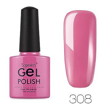Clearance Sale! Nail Polish Gel Fast Dry Top Coat for Girls Women, Iuhan Salon