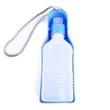 JIALUN-Mascota Dispensador de la botella de la bebida de la alimentación del agua del