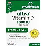 Vitabiotics | Ultra Vitamin D3 Tablets | 1 x 96s