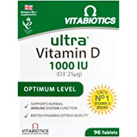 Vitabiotics | Ultra Vitamin D3 Tablets | 1 x 96s