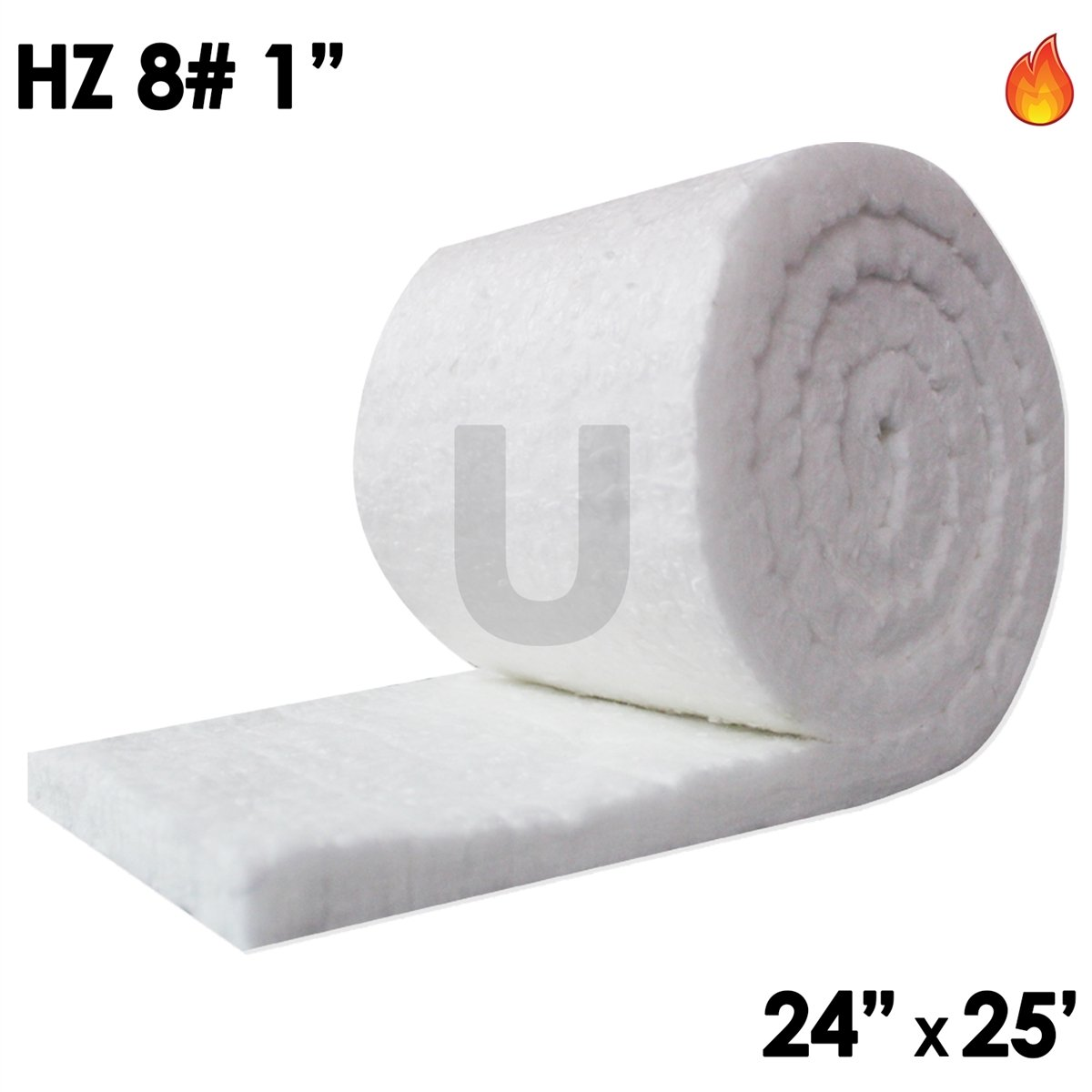 UniTherm rollo de manta aislante de fibra de cerámica (8 ...