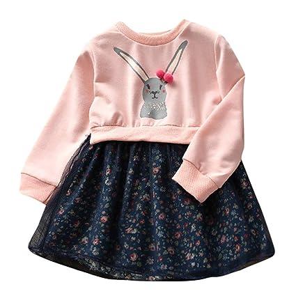 9cb53a147da3d ワンピース 子供服 Timsa ベビー服 女の子 赤ちゃん服 春秋冬 洋服 レース スカート 花柄 チュール