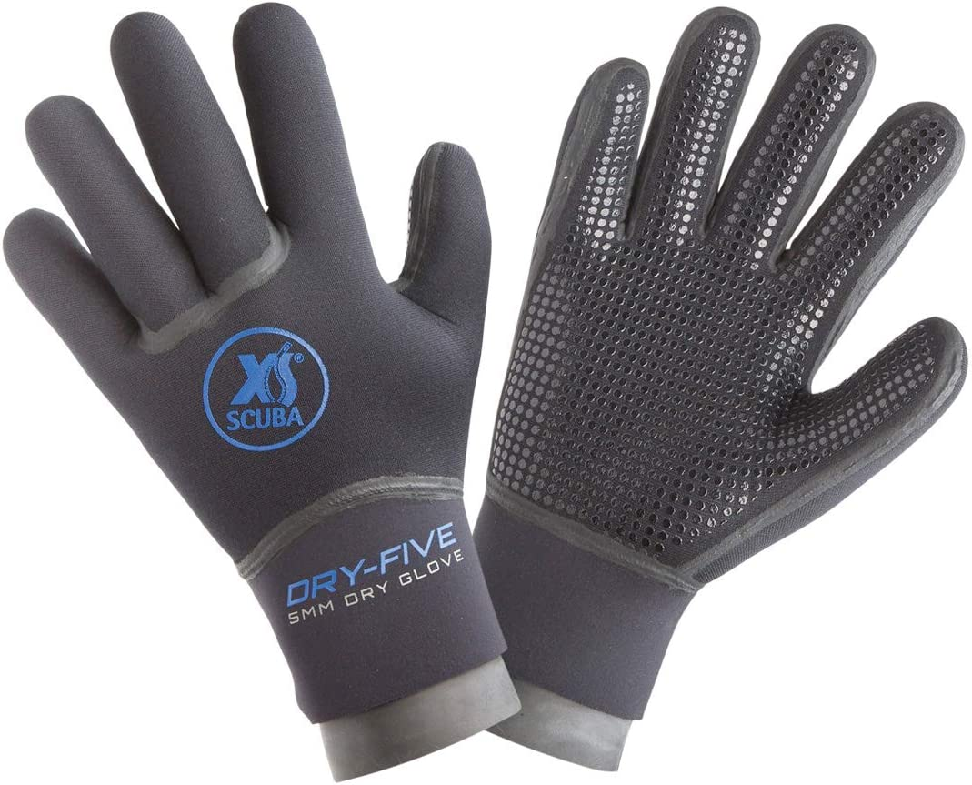Amazon.com: XS Scuba 5 mm. seco cinco guantes de secado ...