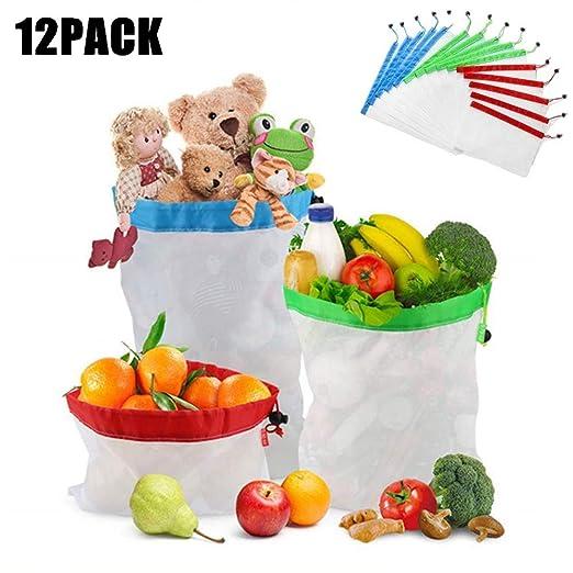 LangRay Bolsas Reutilizables de Frutas, Frutas y Verduras ...