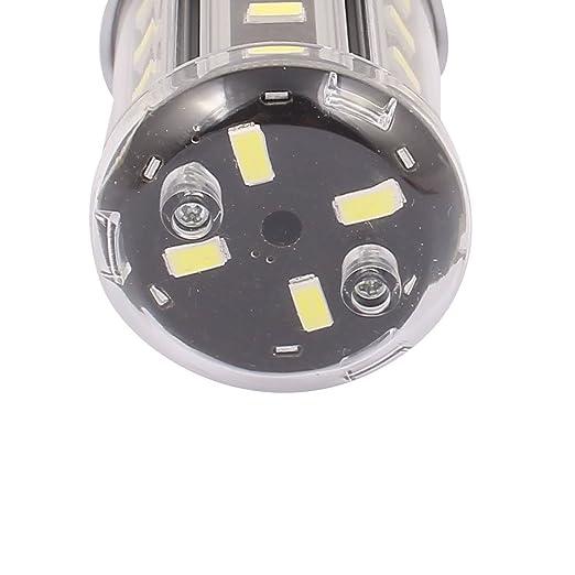 sourcingmap® AC85-265V 5W 28 x 5730E14 SMD LED Luz Lámpara de maíz blanco puro ahorro de energía: Amazon.es: Industria, empresas y ciencia
