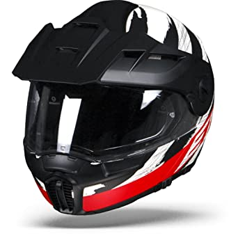 Schuberth, E1 DVS - Casco modular Hunter para moto, tipo flip up,