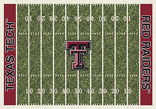 Milliken 4000018662 Texas Tech College Home Field Area Rug, 7'8