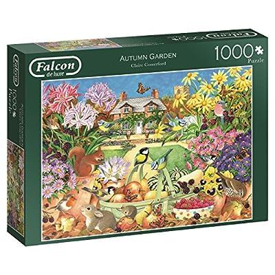 Jumbo 11222 Falcon De Luxe Autumn Garden Puzzle Da 1000 Pezzi