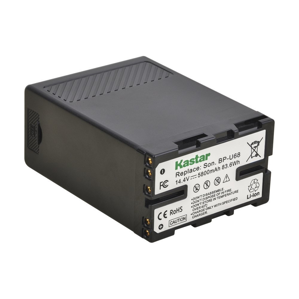 Kastar BP-U68 Multifunctional Battery for Sony BP-U65 BP-U60 BP-U90 BP-U30, Sony PMW-200 PMW-300 PMW-EX1 PMW-EX3 PMW-EX1R PMW-F3 PMW-F3L PXW-FS5 PXW-FS7 PMW-EX160 PMW-EX260 PMW-EX280 PXW-FX9K XDCAM by Kastar