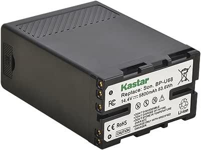 Kastar BP-U68 Multifunctional Battery for Sony BP-U65 BP-U60 BP-U90 BP-U30, Sony PMW-200 PMW-300 PMW-EX1 PMW-EX3 PMW-EX1R PMW-F3 PMW-F3L PXW-FS5 PXW-FS7 PMW-EX160 PMW-EX260 PMW-EX280 PXW-FX9K XDCAM