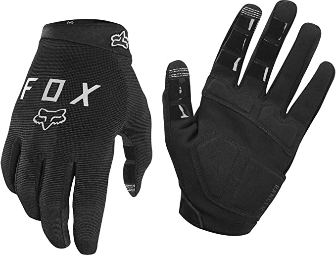 FOX RACING MENS BLACK RANGER MTB CYCLING GLOVES X LARGE XL
