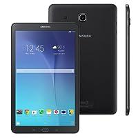 """Samsung Galaxy Tab E 9.6 WiFi - Tablet, Android 4.4, câmera traseira de 5MP e 2MP frontal, tela de 9.6"""", Preto"""
