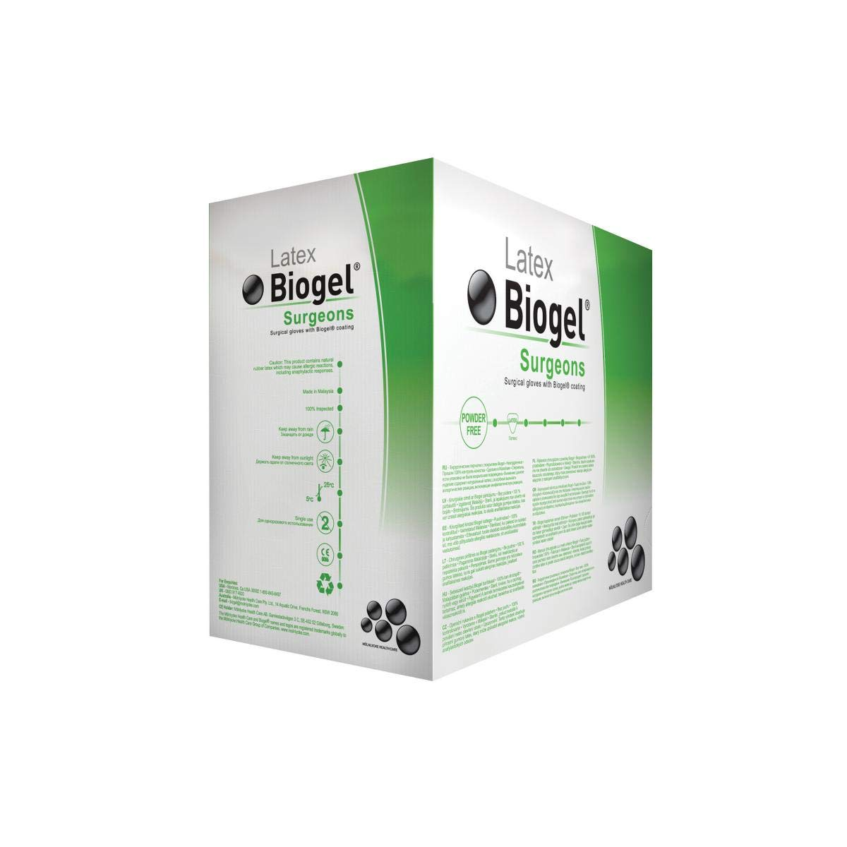 Biogel Surgeons Gloves 6 1/2 50/Bx, Molnlycke Healthcare (Regent) (30465) by Direct Inc (Image #2)