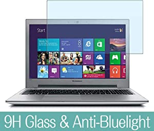 "Synvy Anti Blue Light Tempered Glass Screen Protector for Lenovo ideapad z500 15.6"" Visible Area 9H Protective Screen Film Protectors"