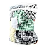 Hangerworld Professional Mesh Net Laundry Washing Bag with Zip - 24in X 17.5in - High Temperature Safe in Washing Machine or Tumble Dryer