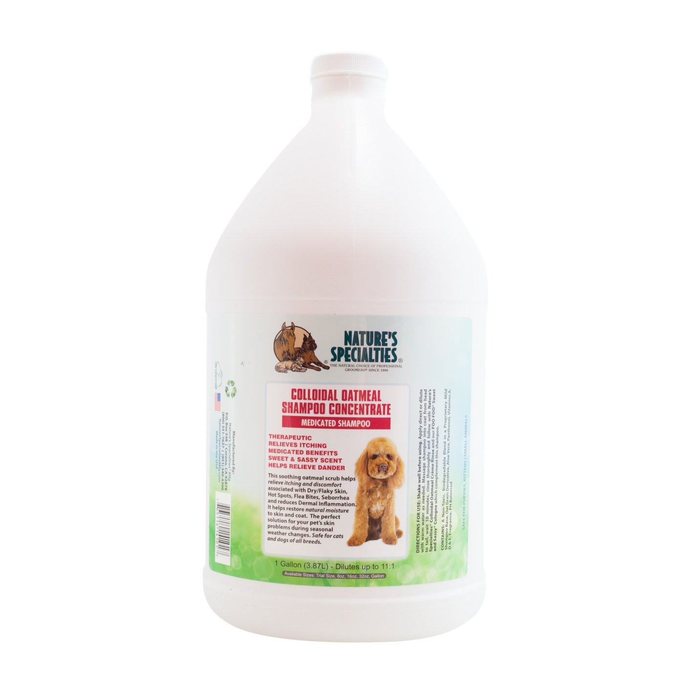 Nature's Specialties Colloidal Oatmeal Pet Shampoo
