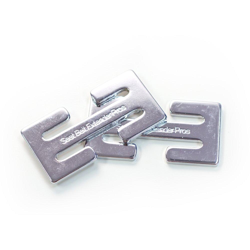 Clip da cintura manopola 2pack (per bambini e adulti) Seat Belt Extender Pros Metal