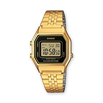 a2749569219e Montre Femme Casio Collection LA680WEGA-1ER  Amazon.fr  Montres