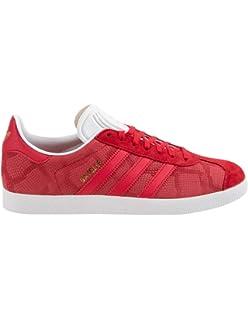 big sale 418b1 379dd adidas Unisex Adult Gazelle Low Top, Black, 40 23 EU Amazon.co.uk Shoes   Bags
