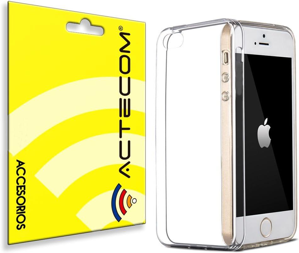 cogac Funda Carcasa Gel TERMOPLASTICO ULTRASLIM 0,3MM iPhone SE 5 5S Transparente