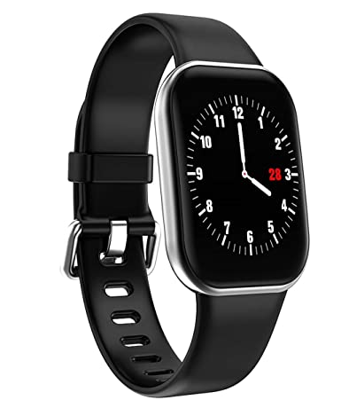 Vaycally Bluetooth Smartwatch, Sports Fitness Activity Heart Rate ...