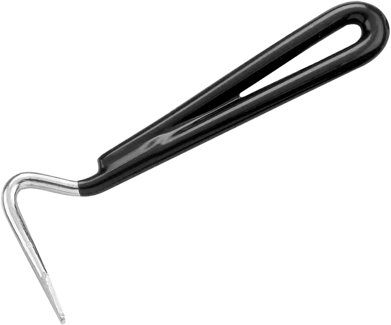 Vinyl Handle Stong Metal Hoof Pick Horse Pony Grooming Care /& Tigerbox/® Antibacterial Pen!