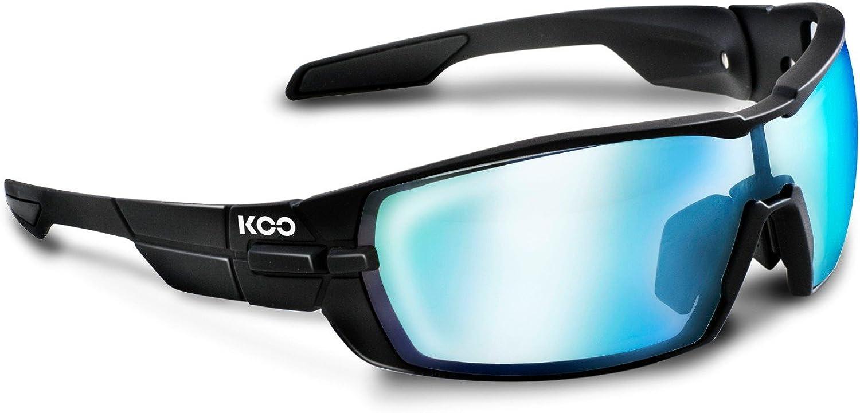KASK(カスク) KOO OPEN Sunglasses - Matt Black/Super Blue Lens + Clear Lenses