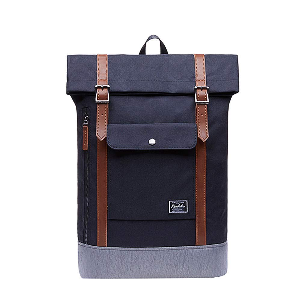 Men Women Travel Backpack  600D Polyester Waterproof Students Casual Adjustable Durable Comfortable Rucksack for Hiking Camping School