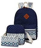 target backpack purse - Viniolve Canvas Dot Backpack Cute Lightweight Bookbag School Shoulder Bags for Teen