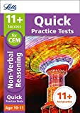 Letts 11+ Success – 11+ Non-Verbal Reasoning Quick Practice Tests: for the CEM tests