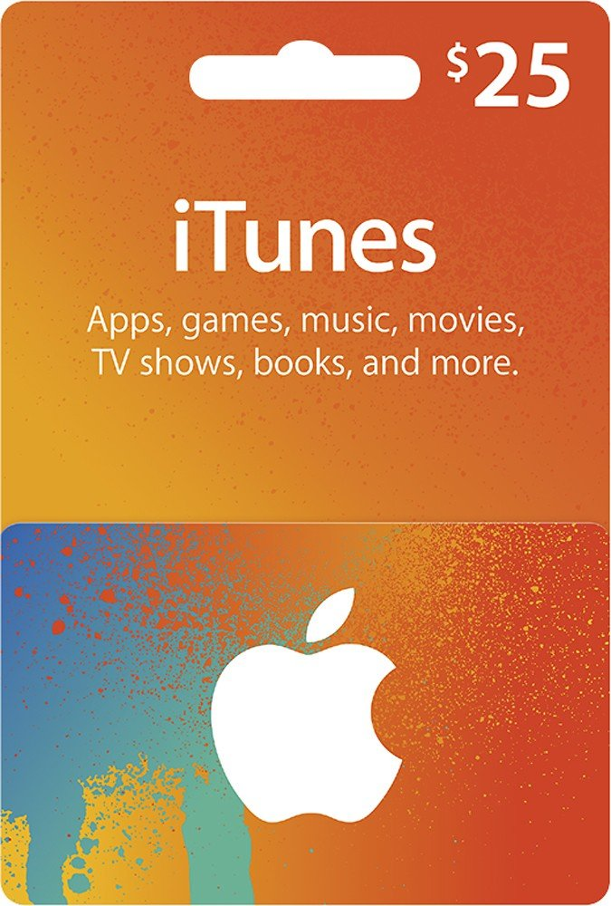 $25CAD/ CANADIAN Apple iTunes Gift Card Certificate - iTune CANADA ...