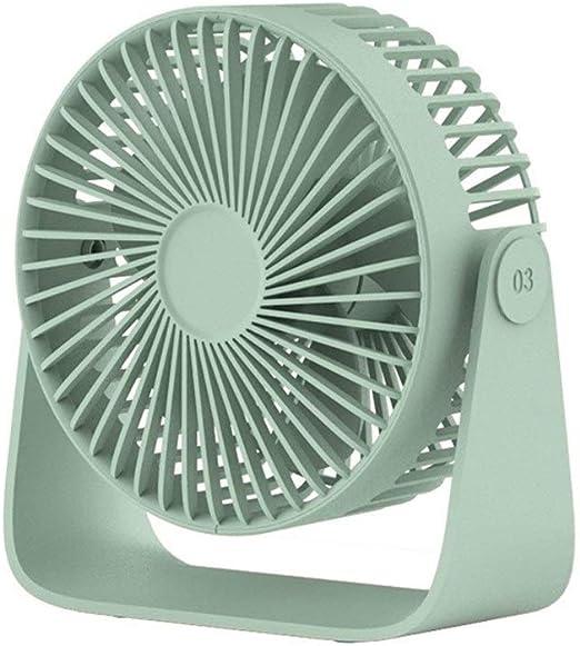 Abanico Mini ventilador de mesa Usb Ventilador eléctrico de ...